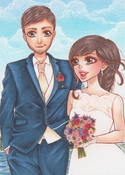 Just married by PrincessFealin