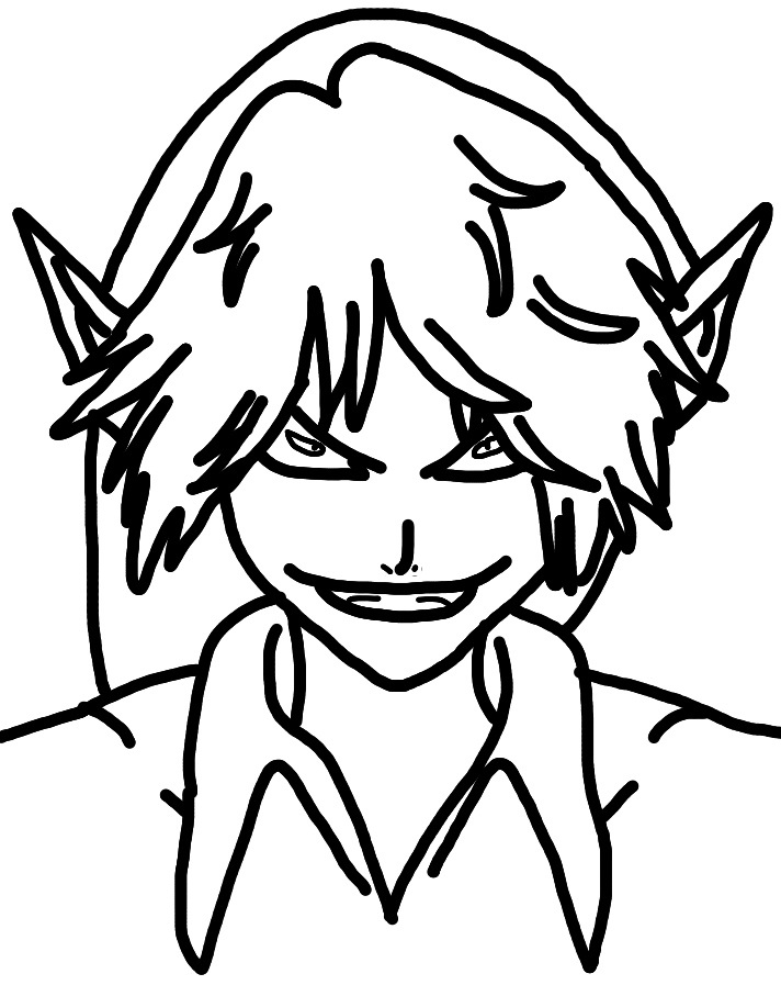 Creepypasta Lineart #1: BEN Drowned by Airazon on DeviantArt