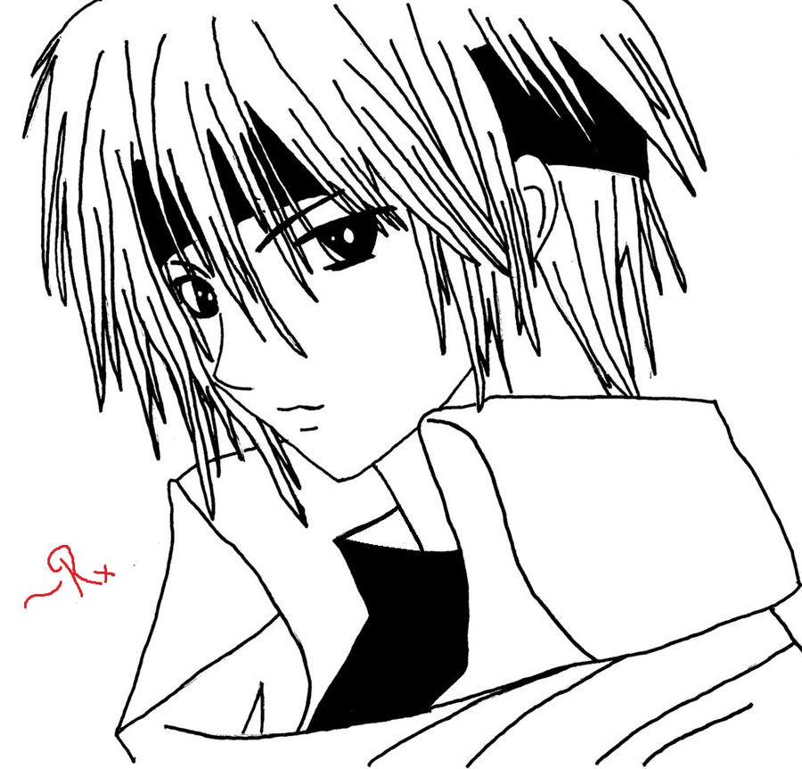 Manga Boy By Artandpoems On Deviantart Boy And Anime Drawing