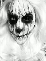 Demon Face Paint by AsSeenOnStevie