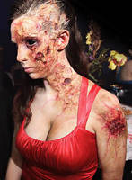 Zombie Makeup for Chicago Zombie Prom 2013 by AsSeenOnStevie
