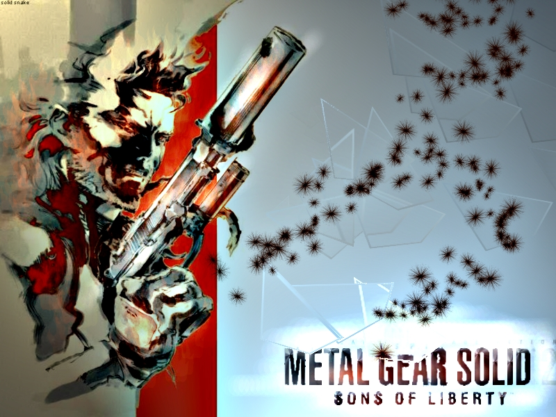Metal Gear Solid 2 Wallpaper: Metal Gear Solid 2 Wallpaper 1 By Valkurda On DeviantArt