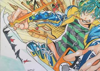 Mashiro Moritaka (finished) by Anime-With-Jackson