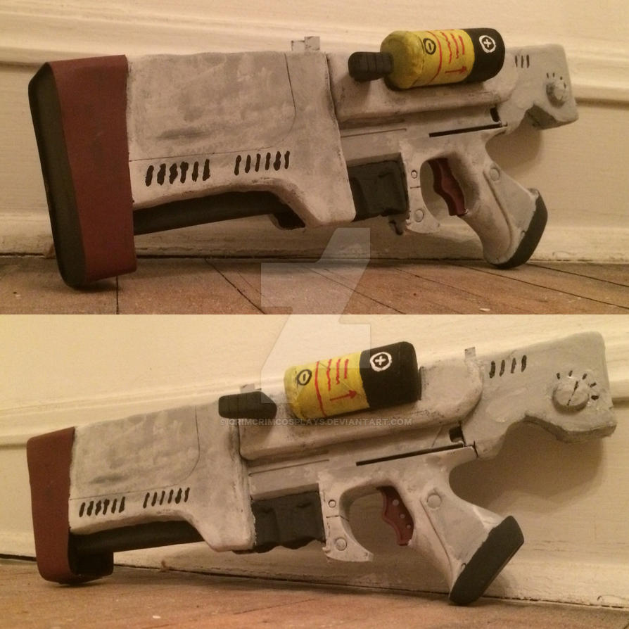 Fallout 4 Institute Pistol by crimcrimcosplays