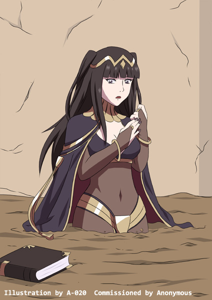 A 020 Quicksand Girl Tharja_sinking_in_quicksand_03_by_a_020-da99b0r