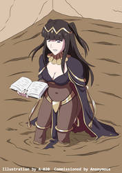 Tharja Sinking in Quicksand 02 by A-020