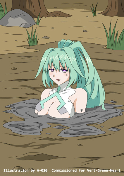 A 020 Quicksand Girl Green_heart_sinking_in_quicksand_04_by_a_020-dae6gdq