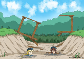 Toby Robin and Terry in Quicksand 4 by A-020