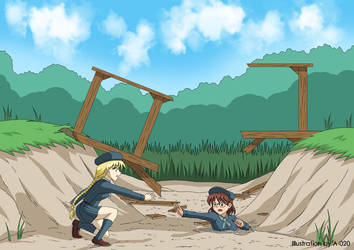 Toby Robin and Terry in Quicksand 3 by A-020
