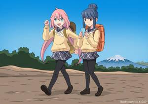 Yuru Camp Quicksand 01