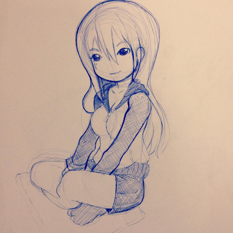 Girl puf by kitvinicius