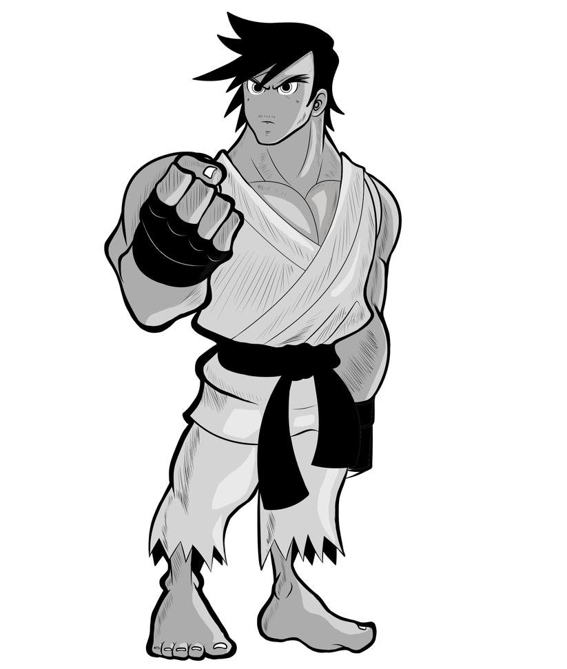 Ryu/StreetFigther comission by kitvinicius