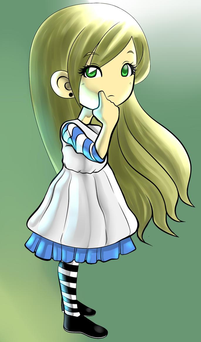 Alice.... by kitvinicius