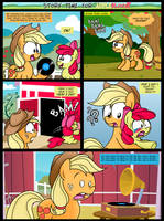 Story time for Applebloom by Epulson