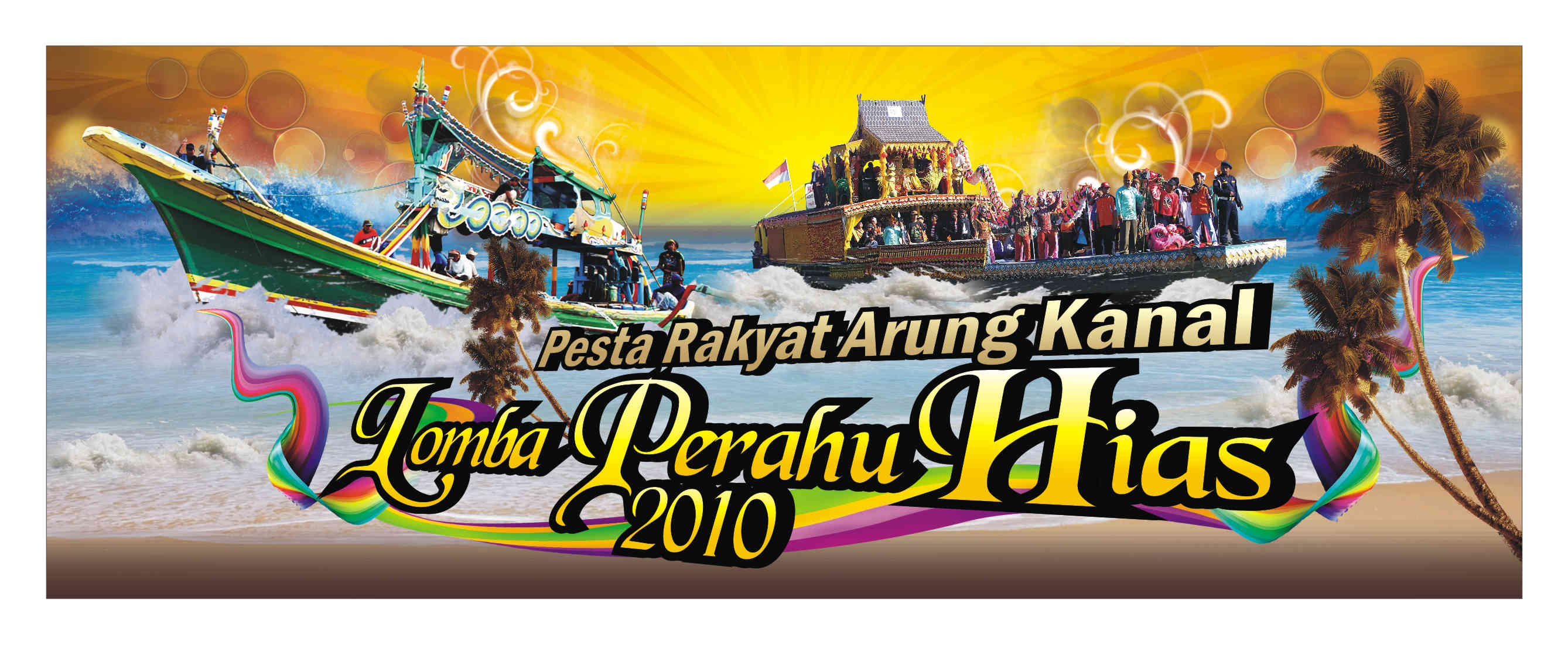 Banner LOMBA PERAHU HIAS by ignra