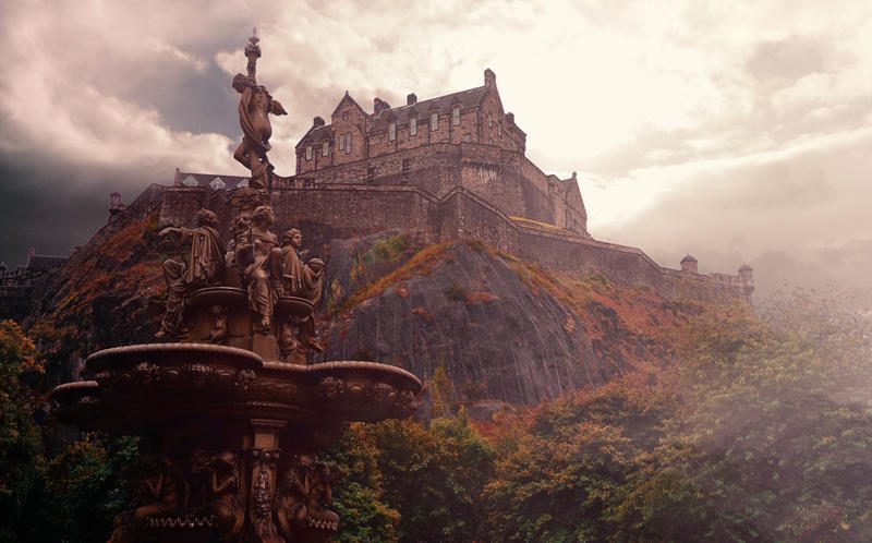 stock edinburgh castle - photo #16