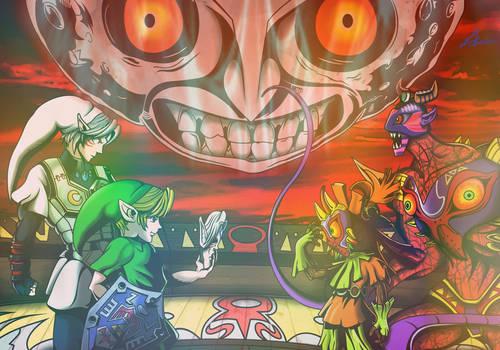 The Legend of Zelda: Majora's Mask by Il-Piccolo-Torero