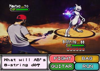 Andrew Baena Pokemon: Catch the Mewtwo with Djent