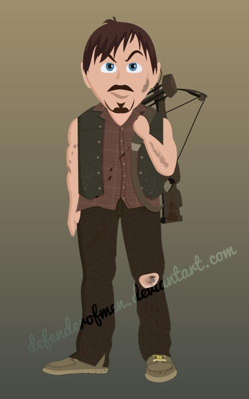 Daryl Dixon by DefenderOfMen