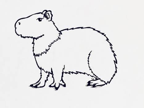 Inktober 2020 Day 6: Rodent