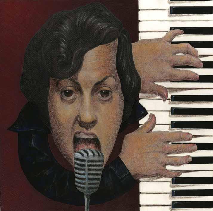 Billy Joel by joshparkinson