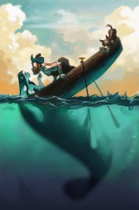 Mermaid Vision by joshparkinson