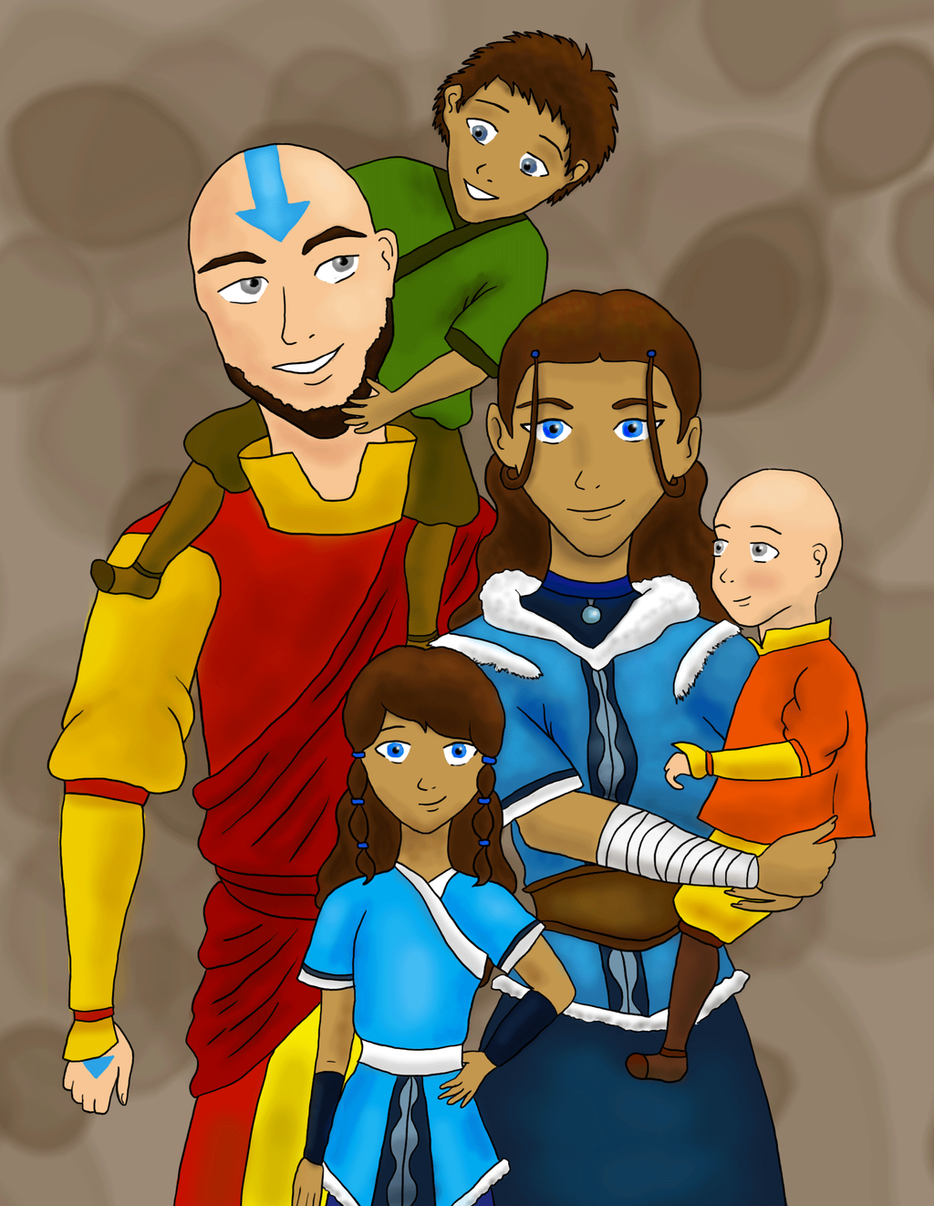 The Avatar S Family By Darbylucy On Deviantart