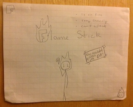 Flame Stick by BurntL