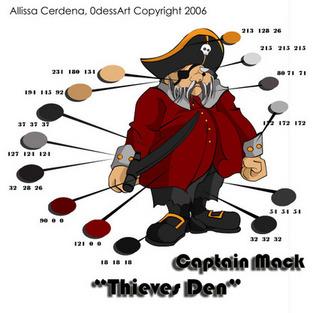 Red Pirate Mack by 0dessa