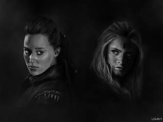 Heda and Wanheda by SBKARM