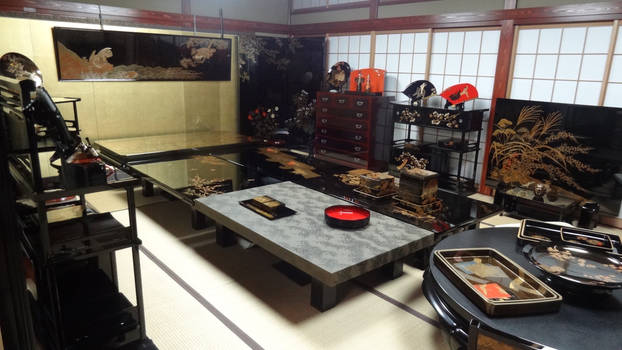 Lacquerware Tea Room