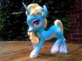 Elsa pony by carlotta-guidicelli