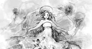 Jellyfish Princess - Phacellophora camtschatica