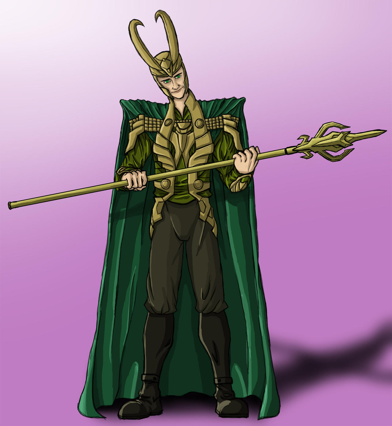 Loki, the God of Mischief by BenSmith128 on DeviantArt