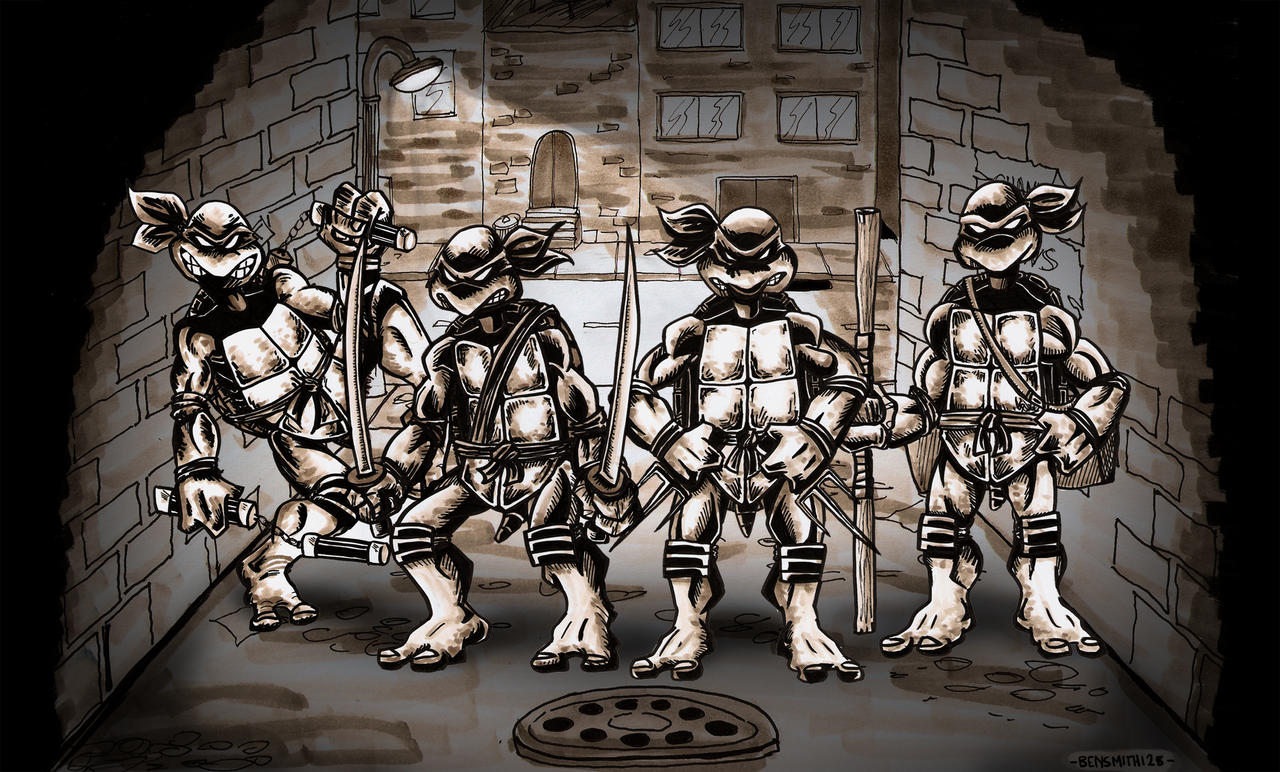 Eastman and Laird's Teenage Mutant Ninja Turtles by BenSmith128