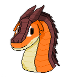 Clay The Mudwing (Headshot) by 2C41SkywingHQLLC