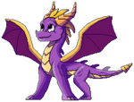 Spyro The Dragon (Full Body) by 2C41SkywingHQLLC