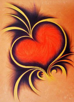 Tribal heart...