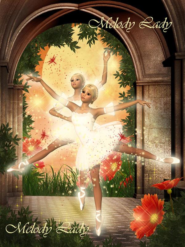 Fantasy Dancing Ballerinas by KlaraKay