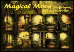 Magical Moon backgrounds