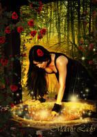 Magic At The Well by KlaraKay