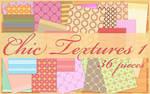 Chic Textures 1 by KlaraKay