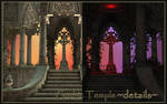 Gothic Temple PNG, a details.... :-) by KlaraKay