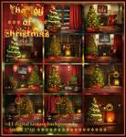 The Joy of Christmas-digital beckgrounds