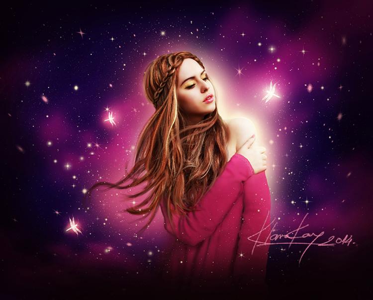 Purple Thoughts by KlaraKay