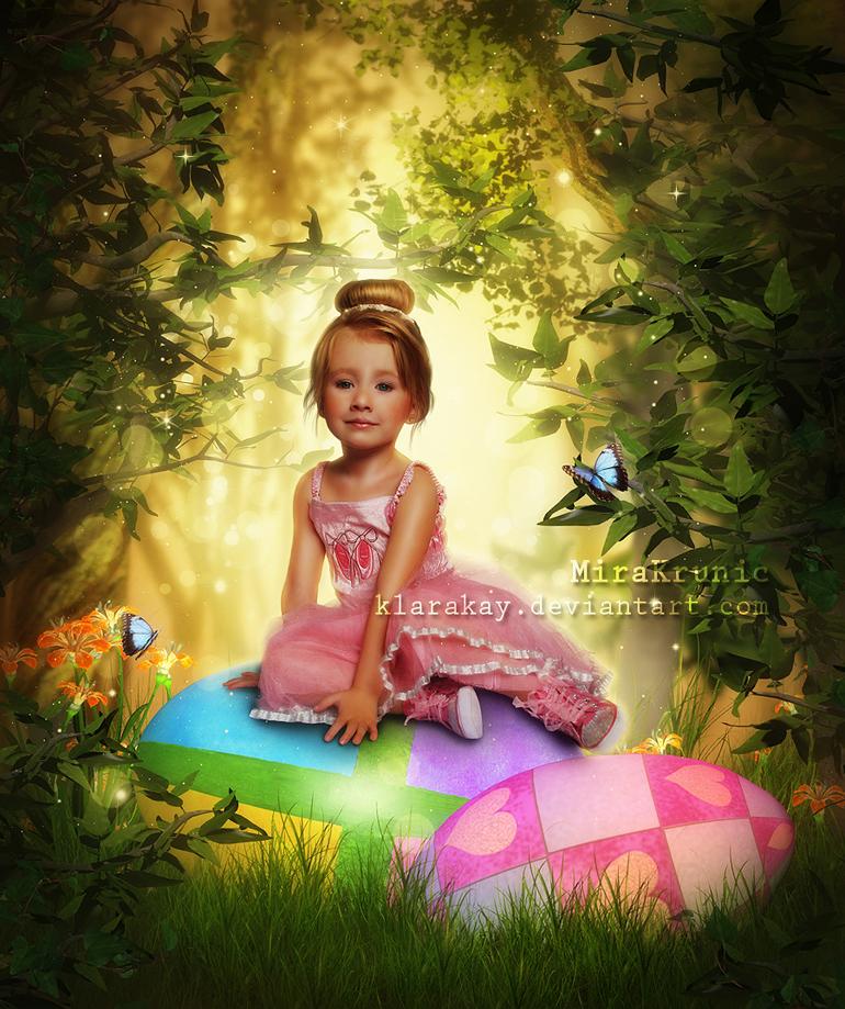Easter Little Princess by KlaraKay