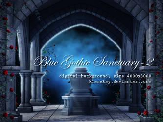Blue Gothic Sanctuary-2 by KlaraKay