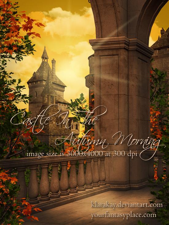 Castle In The Autumn Morning by KlaraKay