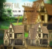 Medieval Barn-png