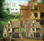 Medieval Barn-png by KlaraKay